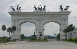 """Cổng """"Nam Thăng Long"""""""