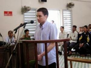 Bị cáo Hồ Duy Hải trước tòa