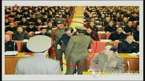 Ông Jang Song Thaek bị cảnh vệ bắt ngay tại một cuộc họp của đảng LĐ Triều Tiên