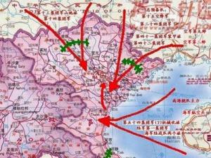 Bản đồ chiến sự Trung Quốc vạch ra trong cuộc xâm lược VN - 2-1979