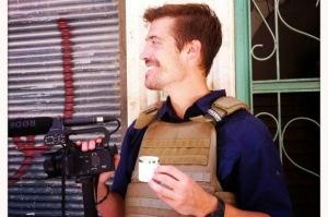 Phóng viên tự do James Foley tại Syria năm 2012.