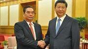 Lê Hồng Anh đáo China đàm Đông Hải?