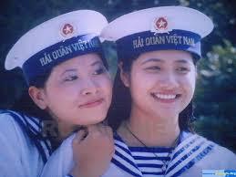 Nữ chiến sĩ Hải quân Việt Nam (Ảnh: Internet)