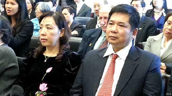 Luật sư Cù Huy Hà Vũ đã phải sống lưu vong sau khi ra khỏi tù ở Việt Nam