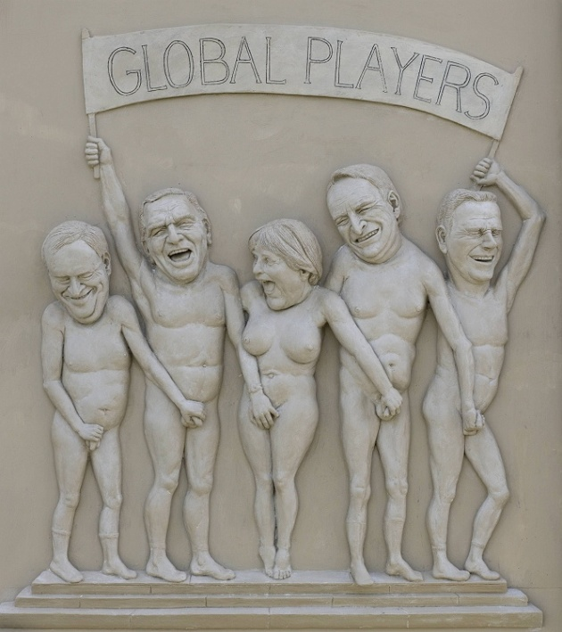 "Relief  ""Global Players"""