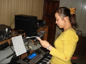 Ca sĩ Minh Nhật
