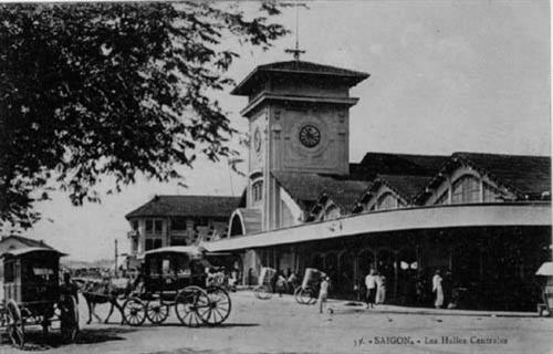 Chợ Bến Thành (Sài Gòn) những năm 20 của thế kỷ trước, nơi in dấu chân Ông Ngoại tôi thời thanh niên và Mẹ tôi thời thơ ấu