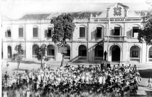 Trường Bonnal xưa, nay là Trường Trung học Ngô Quyền Hải Phòng