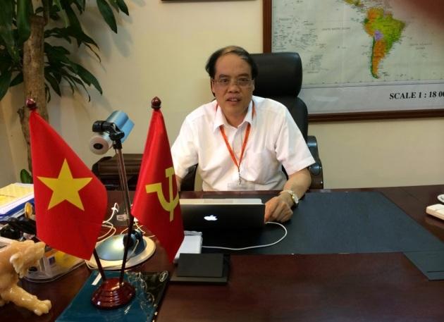 Ông Trần Văn Chứ - Hiệu trưởng Đại học Lâm Nghiệp
