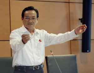 DDBQH Trần Du Lịch (Ảnh: SGGP)