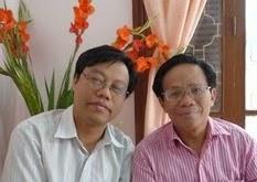 TS Nguyễn Xuân Diện (Blogger Tễu) và TS Đinh Hoàng Thắng