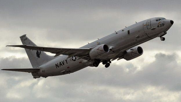 Máy bay do thám P8-A Poseidon của Hoa Kỳ_elvis_nocredit (1)