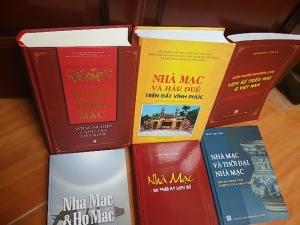 Các sách đã xuất bản về Nhà Mạc - Vương Triều Mạc