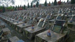 Nghĩa trang các liệt sĩ hy sinh ở chiến tranh biên giới phía Bắc với Trung Quốc.