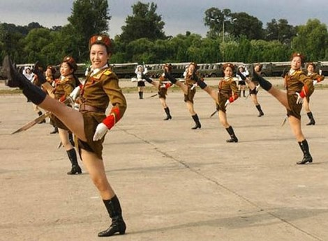 Nữ quân nhân Triều Tiên