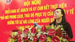 Bộ trưởng Y tế Nguyễn Thị Kim Tiến phát biểu tại hội nghị (Ảnh: Báo SGGP)