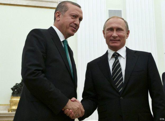 Hai ông Erdogan và Putin còn là 'bạn thân' hồi tháng 9