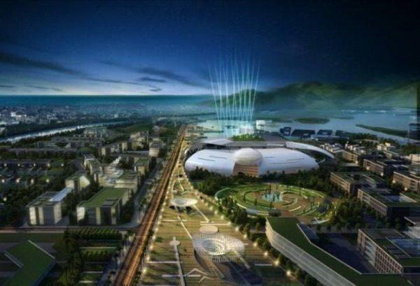 """Quy hoạch khu đô thị hành chính mới tỉnh Khánh Hòa và """"nhà trứng lớn"""" dành cho các cơ quan chính quyền tỉnh Khánh Hòa - Nguồn ảnh: Viện Quy hoạch đô thị - nông thôn quốc gia (Chú thích của Tuổi Trẻ)"""