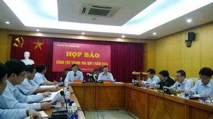 Công tác thanh tra tại Việt Nam được tiến hành khá thường xuyên.
