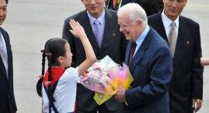 Cựu Tổng thống Mỹ Jimmy Carter đã từng tới Triều Tiên (ảnh: AP)