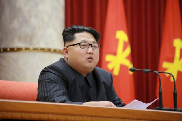 """Trong thông điệp năm mới ngày 1/1/2016, nhà lãnh đạo Triều Tiên Kim Jong Un đã tỏ rõ thái độ muốn cải thiện quan hệ với Seoul mà không nhắc tới """"đồng minh"""" Trung Quốc. Ảnh: Reuters"""