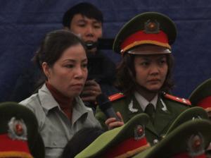 Nữ tử tù Nguyễn Thị Huệ (Ảnh: Internet)