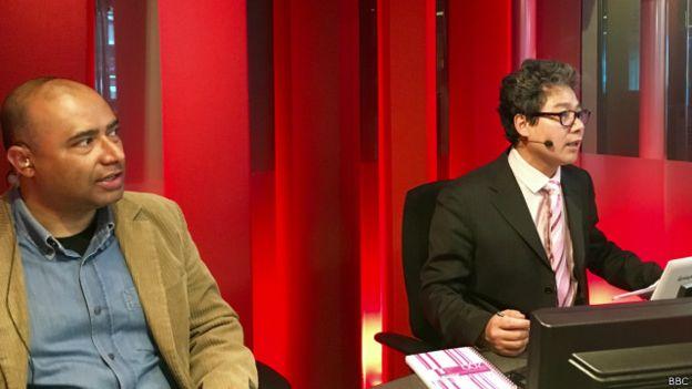 Nhà báo Navin Singh Khadka của BBC World Service (trái) cho rằng đây có thể là một sự sụp đổ hệ sinh thái.