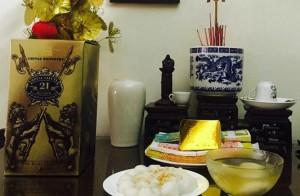 Bánh trôi bánh chay làng Sài. Ảnh: iPhone HM