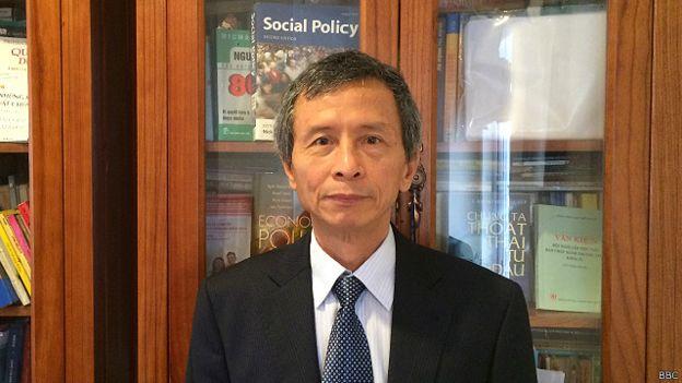 PGS. TS Phạm Quý Thọ từ Bộ Kế hoạch và Đầu tư không đồng ý với ý kiến cho rằng phản ứng của nhà chức trách Việt Nam là 'chuyên nghiệp' và kịp thời.