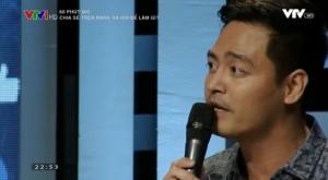 """Ảnh: MC Phan Anh trong chương trình """"60 phút mở"""""""