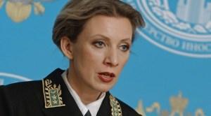 Bà Maria Zakharova, ảnh: Russia Today.