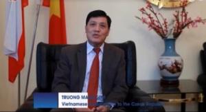 Đại sứ Trương Mạnh Sơn. Ảnh: internet