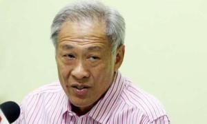 Bộ trưởng Quốc phòng Singapore Ng Eng Hen. Ảnh: Straitstimes