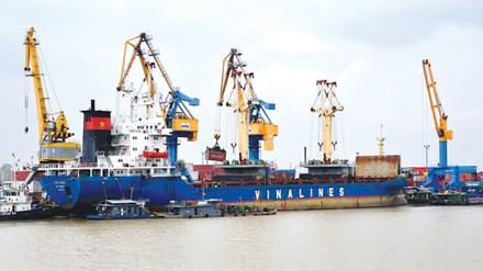 Tổng Cty Hàng Hải Việt Nam là một trong những công ty lớn dự kiến sẽ về siêu ủy ban doanh nghiệp nhà nước quản lý. Ảnh: Hồng Vĩnh.
