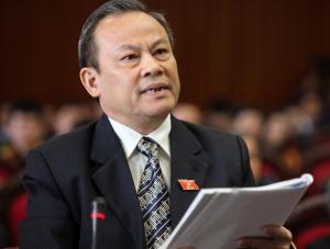 Ông Lê Văn Cuông, nguyên Phó trưởng Đoàn ĐBQH tỉnh Thanh Hóa khóa XII (Ảnh: T.Trẻ)
