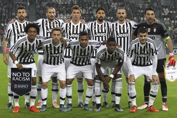 Đội hình khủng dáng sợ của Juventus (Ảnh: Internet)