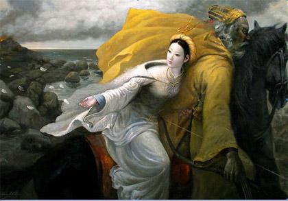 Cục phòng chống buôn lậu Sẽ xử vụ Mỵ Châu, Về tội đã chứa chấp Nỏ Thần giả nước Tàu.