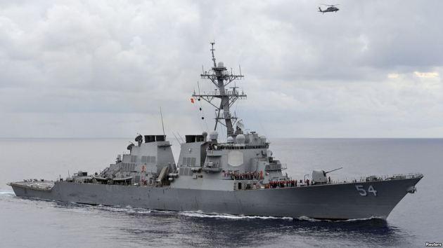 Các tàu chiến và máy bay quân sự của Mỹ đã tiến hành hơn 700 cuộc tuần tra ở biển Đông trong năm 2015.